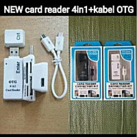 Card Reader 4 In 1 Otg Kabel Multifungsi