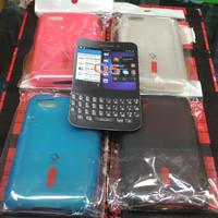 Capdase silikon karet hitam soft case blackberry bb Q5 Q 5 harga murah