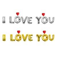PAKET BALON FOIL I LOVE YOU