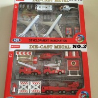BEST SELLER DIE CAST METAL IMAGINATION FIRE AND AIRPLANE SERIES MAINA