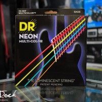 Senar DR STRINGS K3 NEON HI DEF MULTI COLOR BASS
