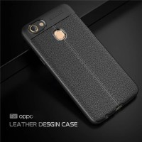 CASE AUTO FOCUS LEATHER OPPO F7 SOFT CASE CASING KULIT OPPO F7