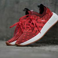 Sepatu Adidas NMD R2 X Japan Red Size 40-44 Sneakers pria terbaru