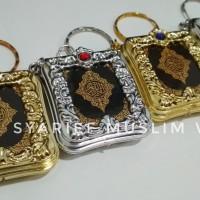 Ganci Mushaf Al Quran Mini   Oleh-oleh Haji Umrah/Souvenir Pernikahan