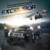Drone Camera WIFI JJRC H40WH 720P RC Tank Transformer Selfie Drone Car