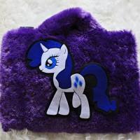 """Unicorn Little Pony Bulu Rasfur 10""""&11""""-12 Inch Softcase Tas Laptop"""