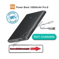 Original Power Bank Xiaomi Pro 2 New Generation 10 000 mAh Fast Char