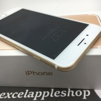 iphone 7 plus 128gb gold second fullset