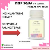obat herbal untuk kolestrol  minyak ikan deep squa hni hpai isi 50