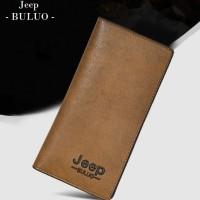 W01 Jeep Long Wallet / Dompet Panjang Pria Wanita - khaki