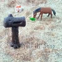 Miniatur Kotak Surat Pohon Kayu Dekorasi Fairy Garden