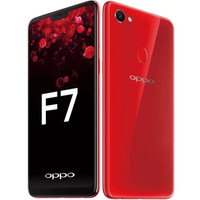 HP OPPO F7 2018 RAM 4GB + INTERNAL 64GB RED ( F7 4/64 LIMITED EDITION)