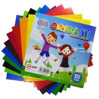Kertas Lipat Origami SIDU 16X16 100 lembar/Kertas Sukung Prakarya