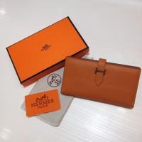 Dompet Wanita  Wallet Hermes Kode : 520 Mirror Quality  Oren