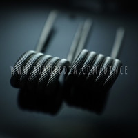 Fused Clapton V1 Nichrome 80 (Ni80) 2x26g/38g - Kawat Coil Vape Vapor