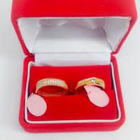 Kotak perhiasan cincin gelang kalung anting couple