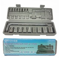 ORANGE KUNCI SOK SET 27 PCS - SOCKET WRENCH SET