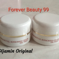 Immortal Sunscreen Cream Oil Free2 - Sunblock SPF 30 -kulit berminyak