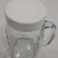 KIG DJ 16C TUTUP Drink Jar Harvest Time Mug Cafe Toples Souvenir Gelas