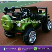 Mobil Mainan Anak Aki Jeep Rubicon unikid tidak bisa ayun