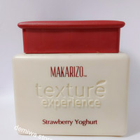 Makarizo Texture Experience Strawberry Yogurt 500gr ( Hair Spa)