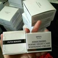 Ertos Dermo Night Care Whitening Cream / Pencerah Kulit Wajah