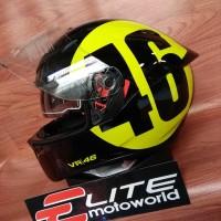 Helm AGV K3 SV Rossi Bollo 46