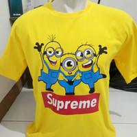 BIG SIZE 3XL 4XL...kaos/t shirt/baju SUPREME MINION