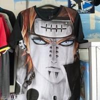 T-Shirt Distro Kaos Anime Fullprint PEIN AKATSUKI