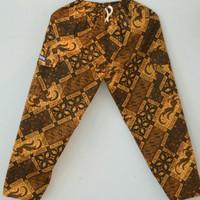 Celana panjang anak batik Betawi boim untuk TK
