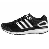 Sepatu Running Adidas Duramo 6 Hitam lis putih mantap