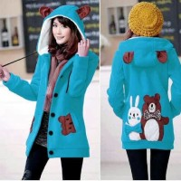 Jaket Funny Bear & Rabbit Turkish