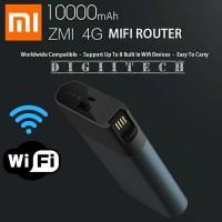 Xioami ZMI 4G LTE PORTABLE ROUTER Hotspot Powerbank 10 000 Mah Berku