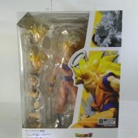 SHF Goku SS3 Super Saiyan 3 Son Gokou Renewal Ver DBZ Dragonball Z