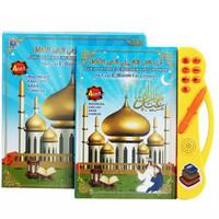 Mainan Anak Playpad E-book 4 Bahasa/ Mainan Buku Pintar