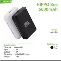 Power bank Hippo bee 6600 Mah
