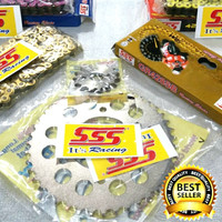 Gear set SSS CB150R / CBR150R 428x13x46x130 Termurah