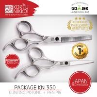 Koryu Nikko Scissors - Paket Gunting KN 350 - Silver