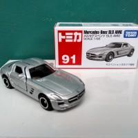 Tomica No 91 Mercedes-Benz SLS AMG Diecast miniatur mobil harga murah
