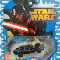 Hot Wheels Star Wars Characters Darth Vader hitam Hotwheels Diecast