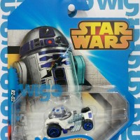 Hot Wheels Star Wars Characters R2-D2 putih Hotwheels Diecast
