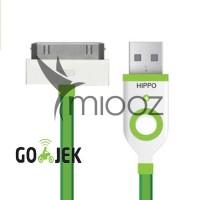 Hippo Teleport Iphone 4 Ipad 2/3 45 cm Kabel data / charger Garansi