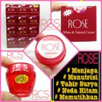 Rose White And Natural Cream ( Rose Cream / Krim Rose )[ORIGINAL]