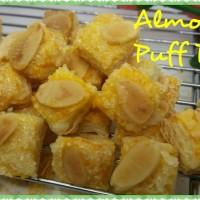 Kue Lebaran Almond puff pastry