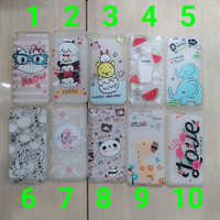 softcase jelly glow in the dark lucu for oppo f5