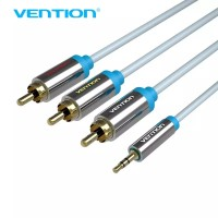 Vention R07 1.5M Kabel Audio Super Quality 3.5mm Jack To 3 RCA