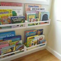 Rak Buku Anak. Rak Buku Minimalis. Ambalan. Rak buku dinding. Minimali