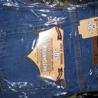 celana jeans panjang standard ice blue Denim