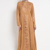 Baju gamis wanita brocade dress