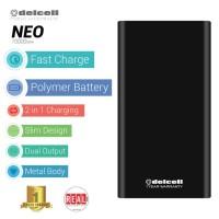 EXCLUSIVE Power Bank Delcell NEO at Tokopedia Real Capacity 10000mAh -